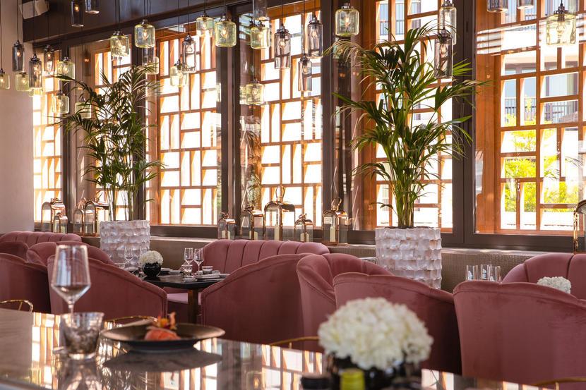 مطعم فرينش ريفيرا دبي