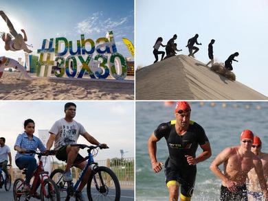 تحدي دبي للياقة 2020: جميع الفعاليات الرياضية