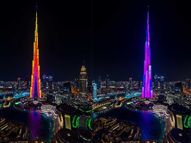 فرصتكم لعرض أعمالكم الفنية على برج خليفة